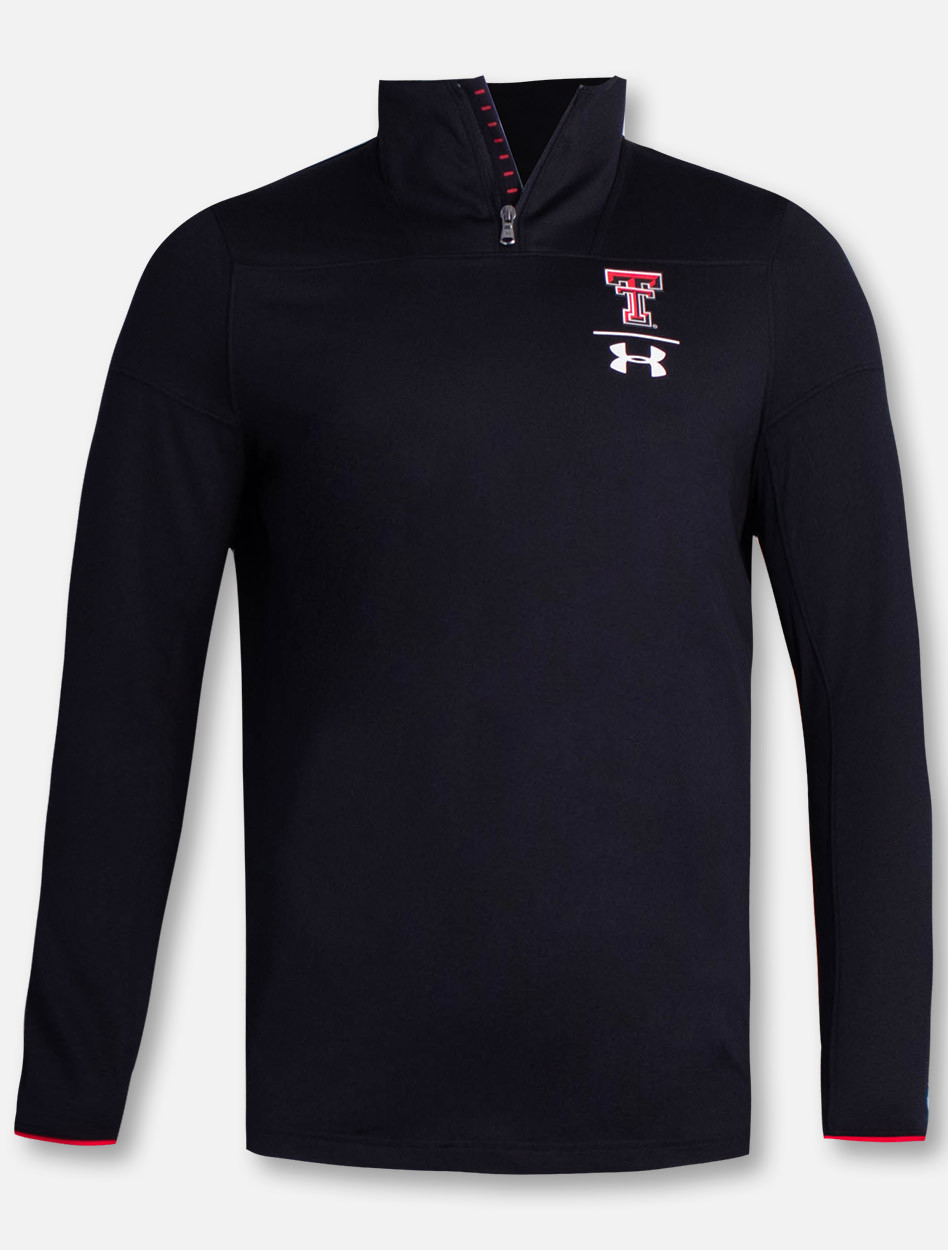 1c5c5f62a Under Armour 2018 Texas Tech Red Raiders Sideline Quarter Zip ...