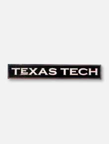 Texas Tech Red Raiders Texas Tech Horizontal Plank Wall