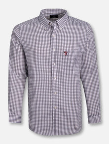 "Antigua Texas Tech ""Rank"" Long Sleeve Dress Shirt"