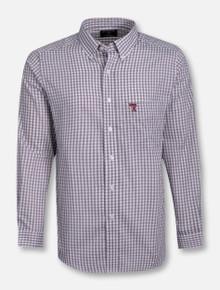 "Antigua Texas Tech ""Rank"" Long Sleeve Dress Shirt"