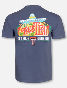 """Texas Tech Red Raiders """"Let's Taco Bout Tech"""" T-Shirt"""