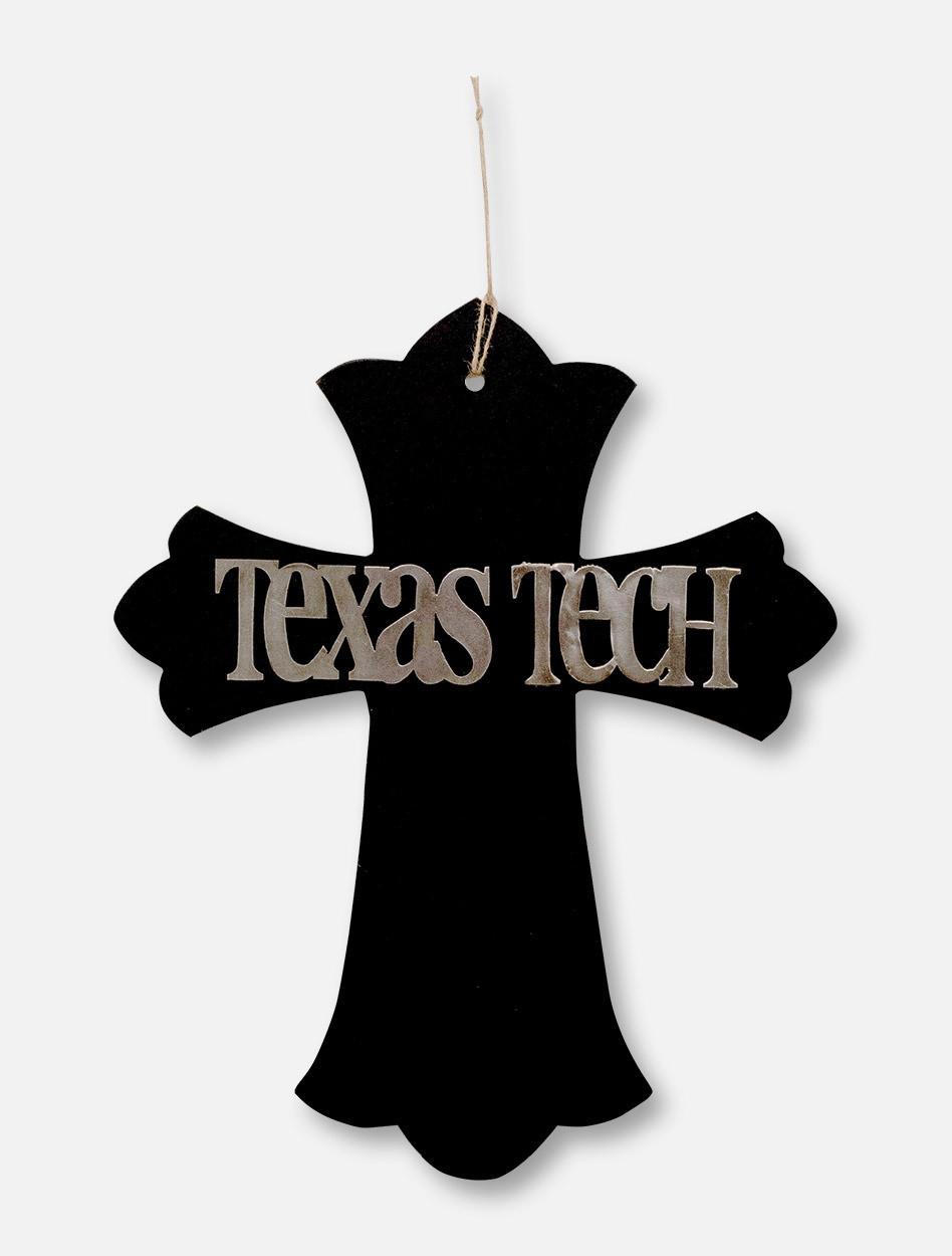 Texas Tech Red Raiders Texas Tech Wooden Cross Wall Decor