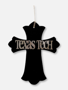 Texas Tech Red Raiders Texas Tech Wooden Cross Wall Decor
