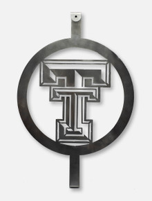 Texas Tech Red Raiders Texas Tech Double T Metal Wreath Hanger