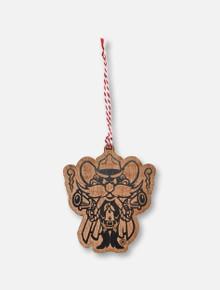 Texas Tech Red Raiders Red Raider Wooden Ornament