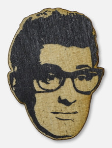 Texas Tech Red Raiders Buddy Holly Wooden Magnet