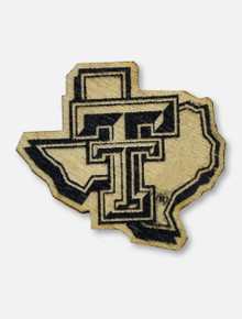 Texas Tech Red Raiders Texas Tech Pride Logo Wooden Lapel Pin