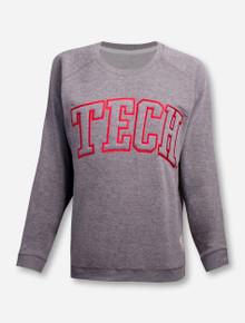 "Texas Tech Red Raiders ""Cecilia"" TECH block Sweatshirt"