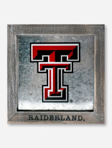 Glory Haus Texas Tech Red Raiders Double T Mirrored Framed Wall Decor
