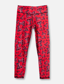 "ZooZat Texas Tech Red Raiders ""Chaos"" YOUTH Leggings"