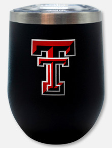"Texas Tech Red Raiders Double T ""Cece"" Wine Tumbler"