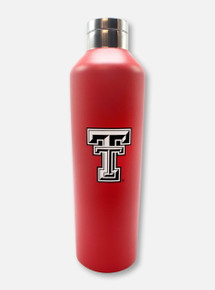 "Texas Tech Red Raiders Black and White Double T ""Manhattan"" Water Bottle"