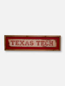 Texas Tech Red Raiders Distress Wooden Sign
