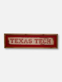 Texas Tech Red Raiders Distress Wooden Sign