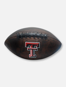 Texas Tech Red Raiders Double T Vintage Football