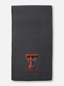 Texas Tech Red Raiders Microfiber Embroidered Golf Towel