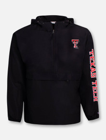 """Champion Texas Tech Red Raiders Pack and Go """"Recruiter"""" 1/4 Zip Pullover"""