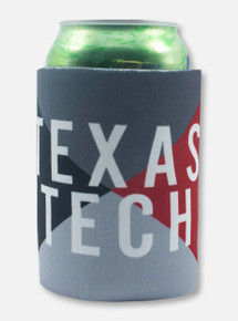 Texas Tech Red Raiders Texas Tech Geometric Pattern Can Cooler