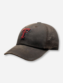 "Top of the World Texas Tech Red Raiders ""Chestnut"" Velcro  Adjustable Cap"