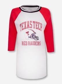 "Blue 84 Texas Tech Red Raiders ""Avery"" Raglan Varisty Tunic"