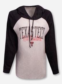 """Blue 84 Texas Tech Red Raiders""""Ashton"""" Raglan Hoodie"""