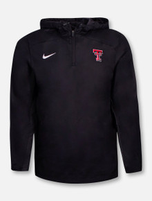 Nike Texas Tech Red Raiders Double T Woven 1/4 Zip Pullover