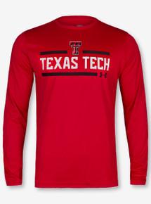 "Under Armour Texas Tech Red Raiders ""Cross-Bar"" Long Sleeve T-Shirt"