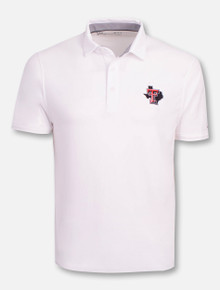 Under Armour Texas Tech Red Raiders Charged Cotton Pride Polo