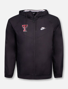 "Nike Texas Tech Red Raiders Double T ""Windrunner"" Jacket"