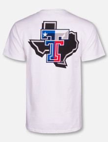 Champion Texas Tech Red Raiders Pride Logo with Texas Flag Double T T-Shirt