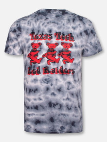 "Retro Brand Texas Tech Red Raiders ""Bandoo"" Tie Dye T-shirt"