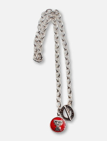 Texas Tech Red Raiders Texas Tech Red Double T Pendant Chain Link Necklace