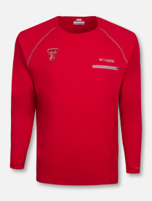 "Columbia Texas Tech Red Raiders ""Cool Catch Tech Zero"" Long Sleeve T-Shirt"