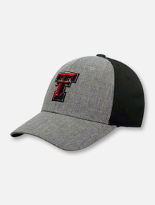 "Top of the World Texas Tech Red Raiders Double T ""Fabooia"" Stretch Fit Cap"