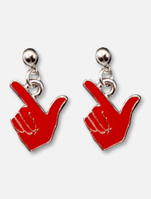 Texas Tech Red Raiders Guns Up Earrings