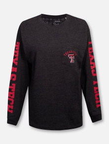 "Pressbox Texas Tech Red Raiders Double T ""McPherson"" Long Sleeve T-Shirt"
