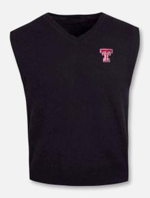 RRO Signature Collection Texas Tech Double T Cashmere Vest