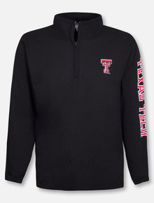 "Champion Texas Tech Red Raiders ""Expedition"" Double T Powerblend 1/4 Zip Pullover"