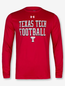 "Under Armour Texas Tech Red Raiders ""50 Yard Line"" Charged Cotton Long Sleeve T-Shirt"