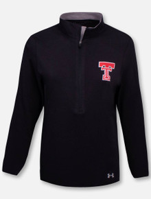 """Under Armour Texas Tech Red Raiders  Women's """"GridIron Great"""" Charged Cotton 1/4 Zip Pullover"""