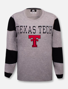 "G-III Texas Tech Red Raiders Throw Back Double T ""The Victory""  Long Sleeve T-Shirt"