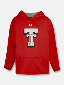 "Under Armour Texas Tech Red Raiders ""Throwback"" YOUTH Fleece Hood"