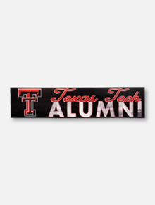 Texas Tech Red Raider Alumni with Double T Wall Decor