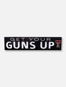 Texas Tech Red Raiders Guns Up with Double T Wall Decor