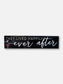 """Texas Tech Red Raiders """"Ever After"""" with Double T Wall Decor"""