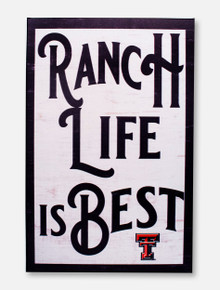 "Texas Tech Red Raiders ""Ranch Life"" with Double T Wall Decor"