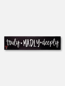 """Texas Tech Red Raiders """"Truly"""" with Double T Wall Decor"""