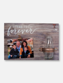 "Texas Tech Red Raiders ""Forever"" Clip It Photo Frame Wall Decor"