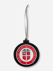 Legacy Texas Tech Red Raiders University Seal Wooden Ornament