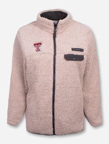 "Columbia Texas Tech Red Raiders ""Mountain Side"" Fleece Jacket"
